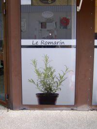 Publigraph décoration de vitrine
