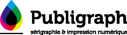 Logo Publigraph : sérigraphie et impression numérique