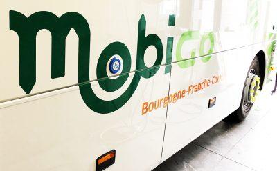 Marquage de véhicule Mobigo publigraph