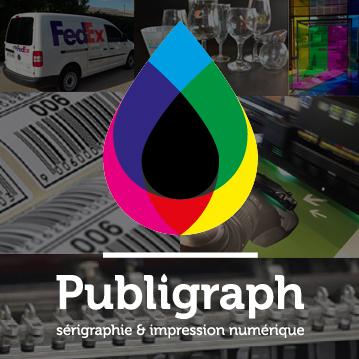 Publigraph, sérigraphie, impression numérique et tampographie