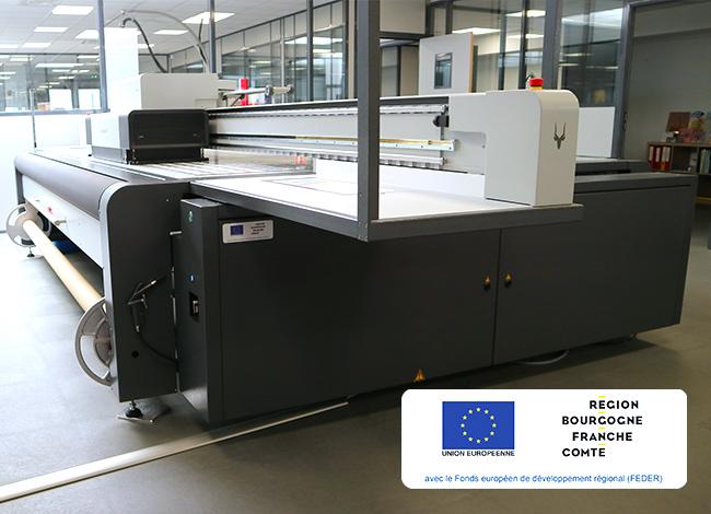 imprimante numérique Swissqprint
